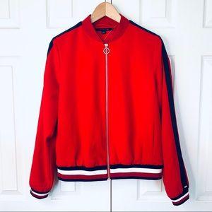 Tommy Hilfiger red light jacket